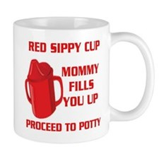 RED SIPPY CUP Mugs