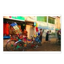 Bangladesh Rickshaw Postcards (Package of 8)