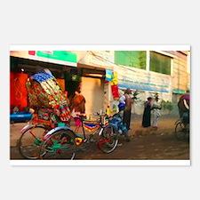 Bangladesh Rickshaw Postcards (Package of 8)