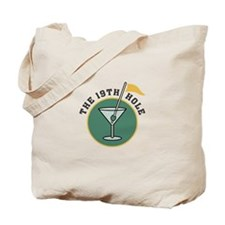 Golf Drinks Tote Bag