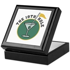 Golf Drinks Keepsake Box