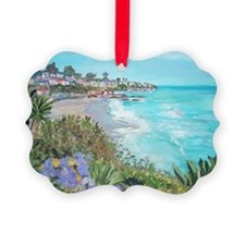 Laguna Beach Picture Ornament