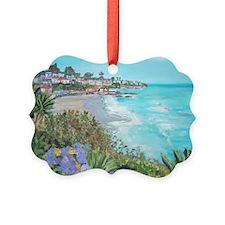 Laguna Beach Picture Ornament