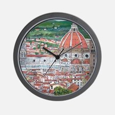 The Duomo of Florence Wall Clock
