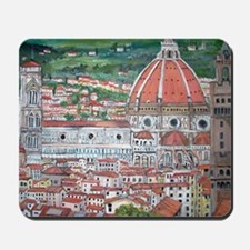 The Duomo of Florence Mousepad