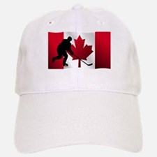 Hockey Canadian Flag Baseball Baseball Cap