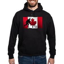 Hockey Canadian Flag Hoody