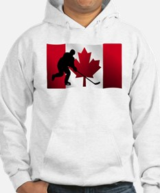 Hockey Canadian Flag Jumper Hoody