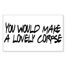 Lovely Corpse Decal
