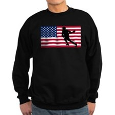 Lacrosse American Flag Jumper Sweater