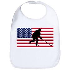 Hockey American Flag Bib