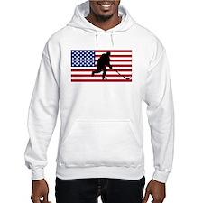 Hockey American Flag Jumper Hoody
