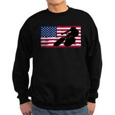 Cycling American Flag Jumper Sweater