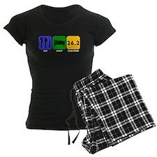 Eat Sleep Marathon pajamas