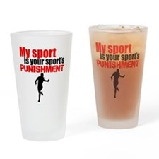 My Sport Is Your Sports Punishment Drinking Glass