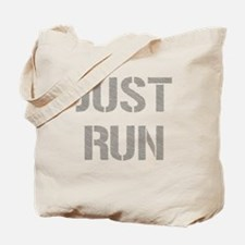 Just Run Tote Bag
