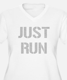 Just Run Plus Size T-Shirt