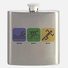 Swim Bike Run Flask