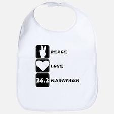 Peace Love Marathon Bib
