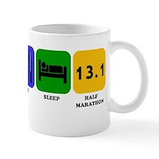 Eat Sleep Half Marathon Mugs