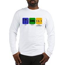 Eat Sleep Half Marathon Long Sleeve T-Shirt
