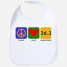 Peace Love Marathons Bib