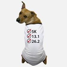 Running Checklist Dog T-Shirt