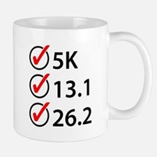 Running Checklist Mugs
