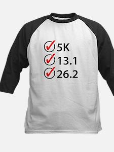 Running Checklist Baseball Jersey