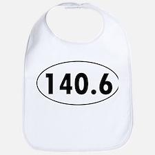 140.6 Triathlon Oval Bib