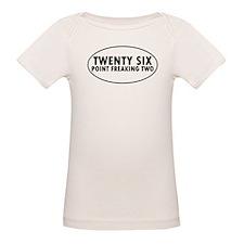 Twenty Six Point Freaking Two Oval T-Shirt