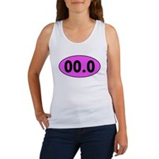 Pink 00.0 Running Oval Tank Top