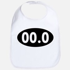00.0 Running Oval Bib