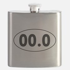 00.0 Running Oval Flask