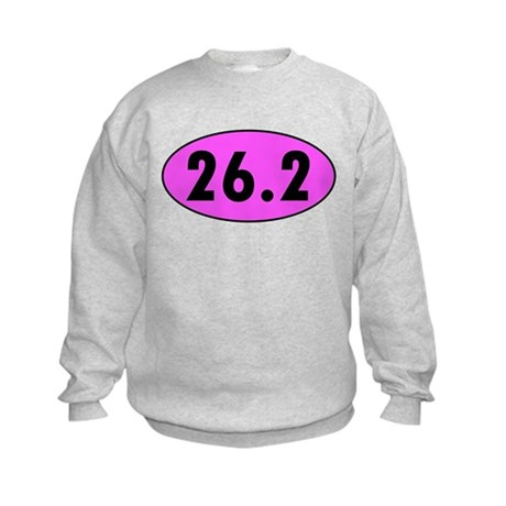 Pink 26.2 Marathon Oval Sweatshirt