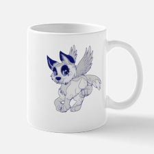 A Dreamy Wolf Mug