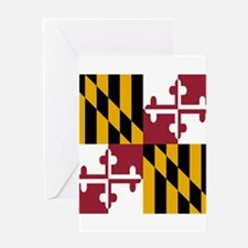 State Flag of Maryland Greeting Cards
