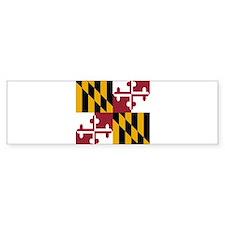 State Flag of Maryland Bumper Bumper Sticker