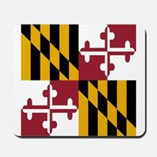 State Flag of Maryland Mousepad