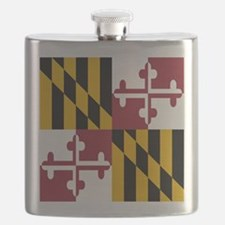 State Flag of Maryland Flask