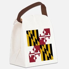 State Flag of Maryland Canvas Lunch Bag