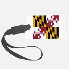State Flag of Maryland Luggage Tag