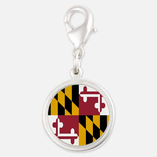 State Flag of Maryland Charms