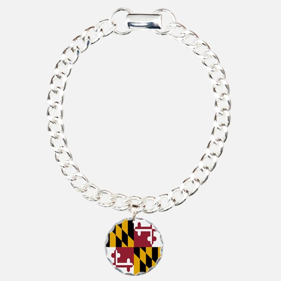 State Flag of Maryland Bracelet