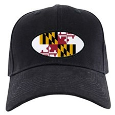 State Flag of Maryland Baseball Cap