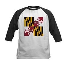State Flag of Maryland Baseball Jersey