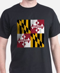 State Flag of Maryland T-Shirt