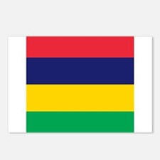 Flag of Mauritius Postcards (Package of 8)