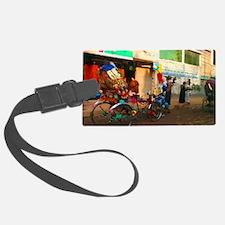 BD Rickshaw Luggage Tag