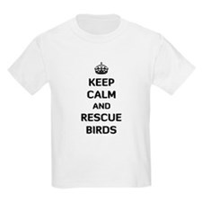 Keep Calm and Rescue Birds T-Shirt
